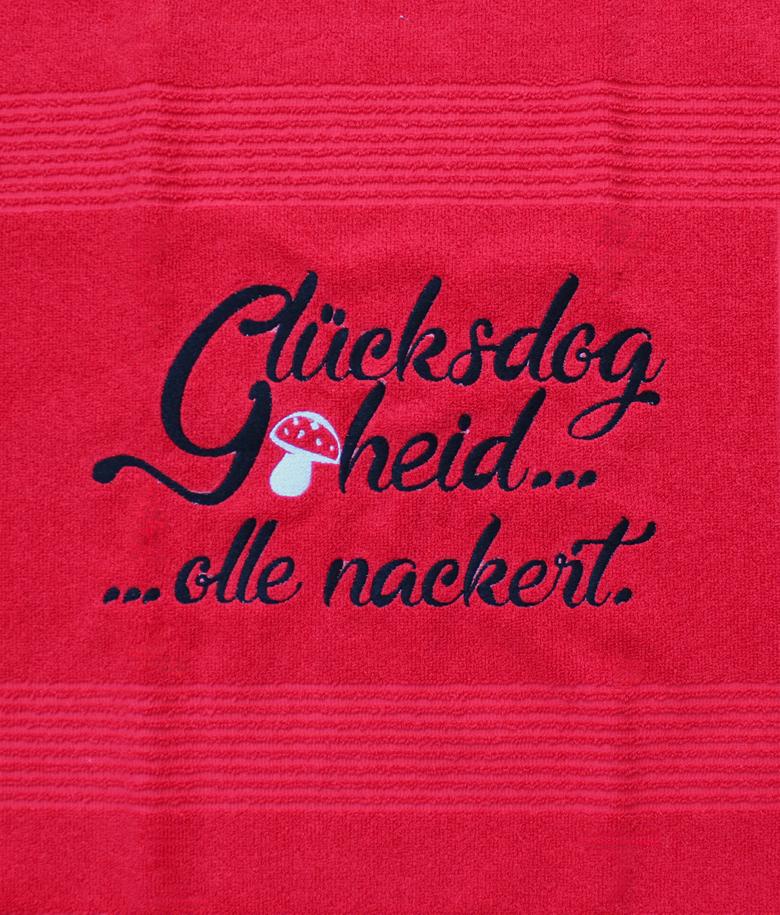 """Badematte """"Glücksdog"""""""